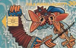 Finland, D095, Kaustinen Folk Music Festival 1996, Birds, 2 Scans. - Finlande