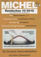 MICHEL Briefmarken Rundschau 10/2012 Neu 5€ New Stamps Of The World Catalogue And Magacine Of Germany - Zeitschriften