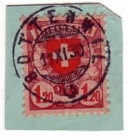 Vollstempel, Runder  Stempel Aus Bottenwil / 11.XI.1930 Auf Nr 164 - Switzerland