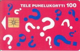 Finland, D103, Questions, 2 Scans. - Finlande