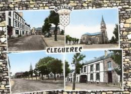 CLEGUEREC (56) Cpsm à 4 Vues