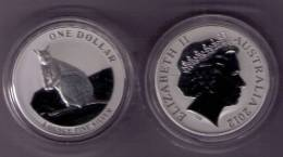 AUSTRALIA 2012 - 1 ONZA PROOF DE PLATA PURA (SILVER OUNCE PROOF) - CANGURO - Australia