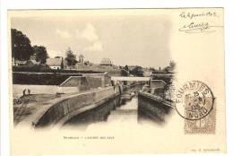 MAUBEUGE - NORD - L'ENTREE DES EAUX - CANAL - PENICHE - Maubeuge