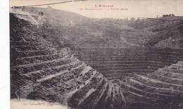 CPA 12 @ DECAZEVILLE @ Mine à Ciel Ouvert (charbon) De La Découverte . @ Editeur Labouche N° 79 @ - Decazeville
