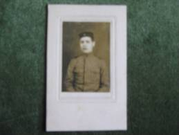 Foto De Joven Con Uniforme Militar Portugués 1915 - Persone Anonimi
