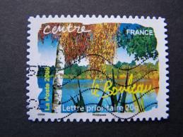OBLITERE FRANCE ANNEE 2009 SERIE FLORE DES REGIONS DU NORD N°293 LE BOULEAU CENTRE ADHESIF AUTOCOLLANT - Gebruikt