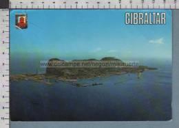 R4308 GIBRALTAR GIBILTERRA AERIAL VIEW VG - Gibilterra