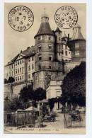 K20 - MONTBELIARD - Le Château - OBLITERATION TRESOR ET POSTES 109 (1915) - Montbéliard