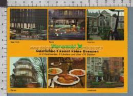 R4489 PUBBLICITA' WIENERWALD CUCINA POLLO NEW YORK PARIS HAARLEM ZURICH INNSBRUCK - Ristoranti