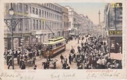 Cpa--vintage-postcard-uk- Newcastle-grainger Street-1903 - Newcastle-upon-Tyne