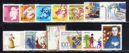 Portugal 1990s Selection Of 13 Different Used - Timbres