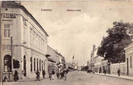 AK UNGARN  HUNGARY  LOSONCZ HOTEL SZALLODA RAKOCZI-UTCA KAVEHAZ  OLD POSTCARD 1914 - Ungarn