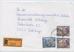 Einschreibe-Brief Reco Nassereith-Salzburg MiFr 1995 - 1945-.... 2. Republik