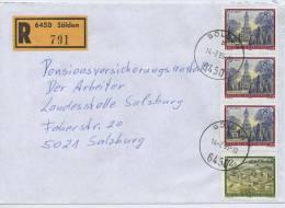 Einschreibe-Brief Reco Sölden-Salzburg MiFr 1995 - 1945-.... 2. Republik