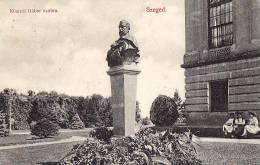AK UNGARN  HUNGARY SZEGED KLAUZAL GABOR SZOBRA OLD POSTCARD 1906 - Ungarn