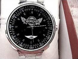 MORGAN MONTRE MIXTE RONDE NOIRE NEUVE- 60% DIAM 40 BRACELET ACIER SUPER PRIX - Montres Modernes