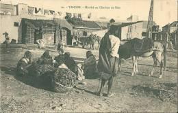 210Si      Maroc Tanger Marché Au Charbon De Bois - Tanger