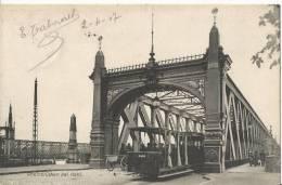 Rheinbrücken Bei Kehl  AK 1907 - Kehl