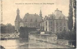 JEHAY-BODEGNEE-VUE PRISE DU COTE DROIT DU CHATEAU-KASTEEL-ENVOYEE 1909-EDIT. EUG.LIZEN-GUISSE - Amay