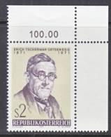 Austria 913   **   SCIENCE  PLANTS - 1945-.... 2nd Republic