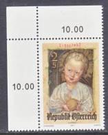 Austria 914   **   ART  PAINTING  DURER  CHRISTMAS - 1945-.... 2nd Republic