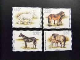 ANTILLAS HOLANDESAS 1996 Yvert Nº 1048 / 1051 ** CABALLOS   CHEVAUX - Horses