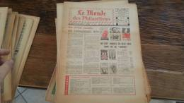LOT 419 JOURNAL LE MONDE DES PHILATELISTES N�280