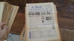 LOT 426 JOURNAL LE MONDE DES PHILATELISTES N�273