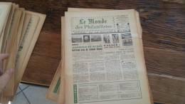 LOT 427 JOURNAL LE MONDE DES PHILATELISTES N�272