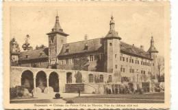 RIXENSART-CHATEAU DU PRINCE FELIX DE MERODE-KASTEEL-VUE DU CHATEAU COTE SUD-ENVOYEE 1936-EDIT. A. DALBRASSINE-MARCHAL - Rixensart