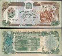 AFGHANISTAN 60b 500 Afghanis Banknotes Uncirculated UNC - Bankbiljetten