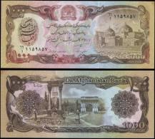 AFGHANISTAN 61 1000 Afghanis Banknotes Uncirculated UNC - Bankbiljetten
