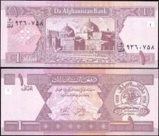 AFGHANISTAN 64 1 Afghanis Banknotes Uncirculated UNC - Bankbiljetten
