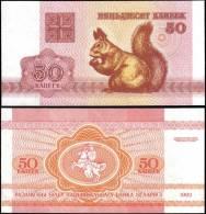 Belarus 1992 50 Kapeek Banknotes Uncirculated UNC - Bankbiljetten