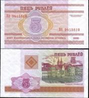 Belarus 2000 5 Ruble Banknotes Uncirculated UNC - Bankbiljetten
