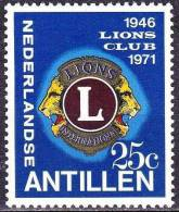 Ned. Antillen 1971 25 Jaar Lions Club NVPH 435 Postfris - Curaçao, Nederlandse Antillen, Aruba