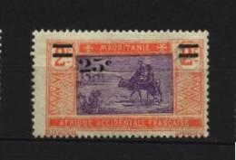 Mauritanie   N° 50  Neuf * Luxe   Cote Y&T  1,30  €uro  Au Quart De Cote
