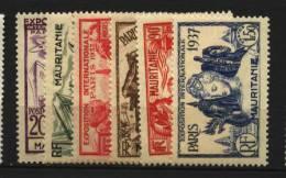 Mauritanie   N° 66 à 71  Neuf *  Luxe   Cote Y&T  10,00  €uro  Au Quart De Cote