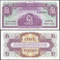 Great Britain 1 Pound Banknotes Uncirculated UNC - Bankbiljetten