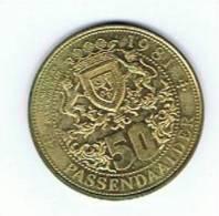 België 50 Passendaler 1981 Passendaele Kaasdorp - Gemeentepenningen