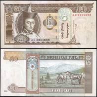 Mongolia 2000 50 Tugrik Banknotes Uncirculated UNC - Bankbiljetten