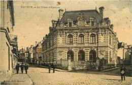 SAUMUR     CAISSE D EPARGNE     CARTE TOILEE - Bancos
