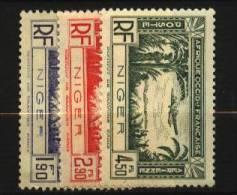 Niger  PA   N° 1 à 3   Neuf **  Luxe   Cote Y&T  4,00  €uro  Au Quart De Cote