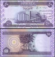Iraq 50 Fifty Dinars Banknotes Uncirculated UNC - Bankbiljetten