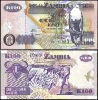 Zambia 2006 100 Kwacha Eagle Banknotes Uncirculated UNC - Bankbiljetten