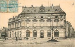 LE MANS           CAISSE D EPARGNE - Bancos