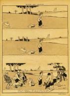 Dessin De B.RABIER - Paru  Dans Le RIRE N° 149 - Du 11 SEPT.1897 - RUSE De LAPIN - Drawings