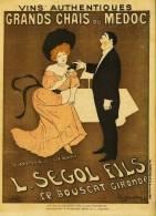 PUBLICITE Pour  Les  * CHAIX Du MEDOC  * Par  CAPIELLO - Parue Le 26 Octobre 1901 - Dans  LE RIRE  N° 364 -  Litho ? - Alcohols