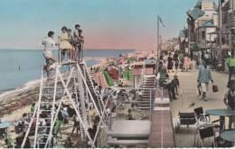 SAINT-AUBIN-sur-MER, Jeux D'enfants Sur La Plage - 194 CAP - Saint Aubin