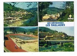 Gard.Les Taillades Prés De La Grand Combe.Carte Multivues Avec Le Vélodrome - Altri Comuni